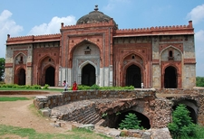Qila Kuhna Masjid Inside Puran Qila