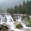Waterfalls At Mount Qingcheng