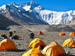 Qomolangma Base Camp