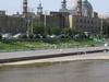 Qom Shrine With River
