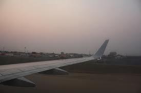 Cuatro febrero del Aeropuerto Internacional