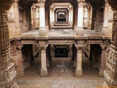 Queen Rudabai's Step Well