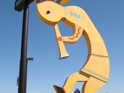 Quotworlds Largest Kokopelliquot In Camp Verde
