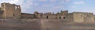 Inside The Ruins Of Qasr Azraq