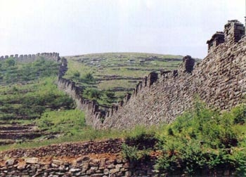 Remnants Of The Great Wall Of Qi