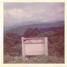 Former Qualla Indian Reservation Sign