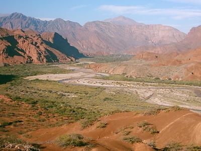 Quebrada De Cafayate Landscape