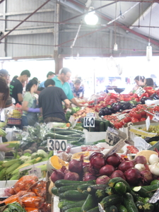 Fresh Vegetables At The Queen Victoria Market