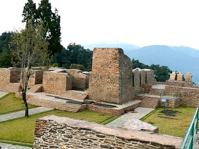 Rabdentse Palace Sikkim