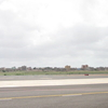 Rabil Cape Verde Airport Runway View.