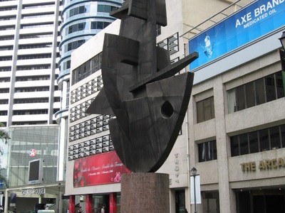 Raffles  Place  Sculpture