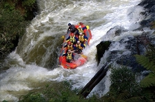 Rafting Down Okere Falls NZ