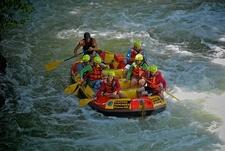 Rafting Group @ Kaituna River - Okere Falls Scenic Reserve NZ