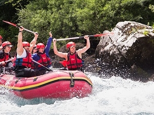 Camp And Rafting Tour