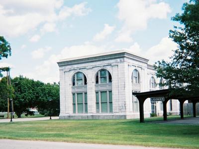 Railroad  Station  In  Ligonier  Pennsylvania