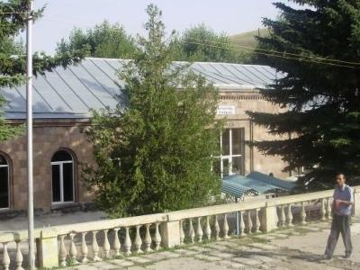 Hrazdan Railway Station