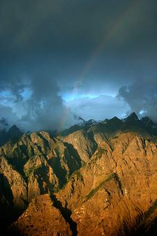 Rainbow Across Himalayas, Auli