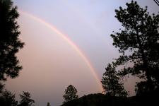 Rainbow At Gold Canyon