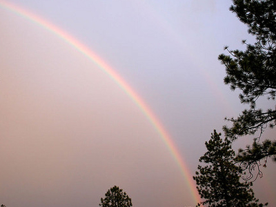 Rainbow At Gold Canyon