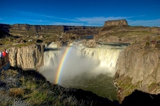 Rainbow At Shoshone Falls ID