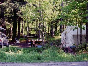 Rainbow Bend State Forest Campground