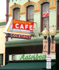 Rainbow Cafe Exterior In Downtown Pendleton