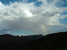 Rainbow Over Capital Reef