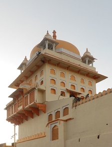 Ram Raja Palace Temple Close Up