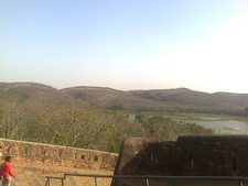 Rajbagh Lake From Ranthambore Fort