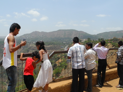 Rajmachi Point Viewing Platform - Lonavala - Maharashtra - India