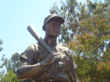 Ralph Kiner Statue In Alhambra