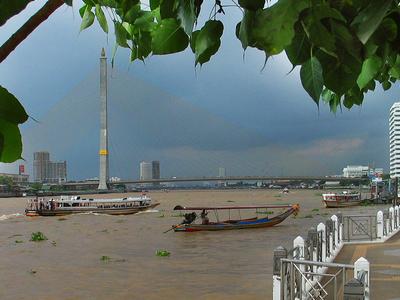 Rama VIII Bridge During The Daytime