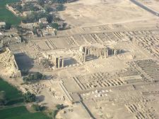 Ramesseum Aerial View - Luxor - Egypt