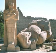 Ramesseum Remains - Luxor - Egypt