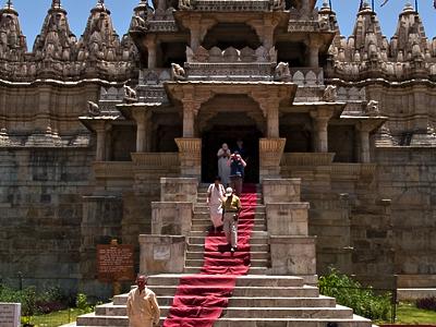 Ranakpur Jain Temple Entrance
