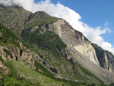 Randa   Rockslide   Town