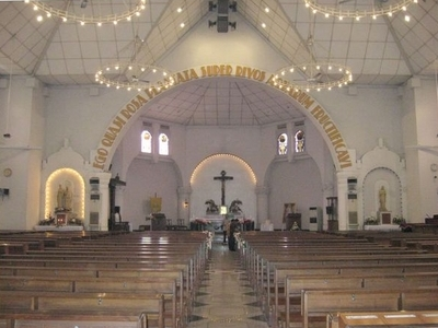 Interior Of Holy Rosary Cathedral