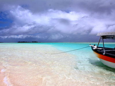 Rangiroa Atoll - Storm On The Lagoon