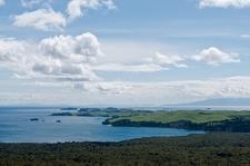 Rangitoto Island Coastline NZ