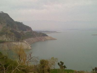 Ranjit Sagar Dam Reservoir