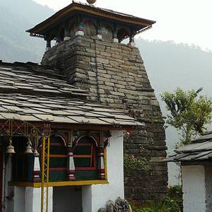 Ransi Temple At Madhyamaheshwar
