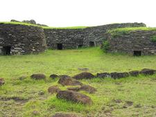 Rapa Nui - Orongo Houses
