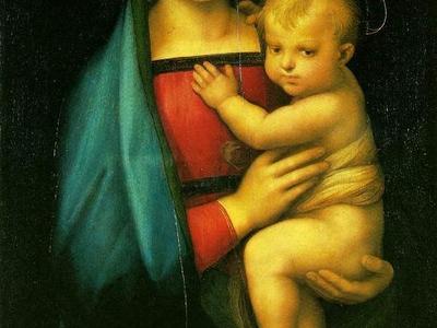 Raphael Madonna Dell Granduca