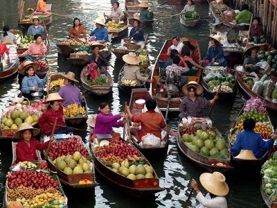Ratchaburi - Damnoen Saduak Floating Market
