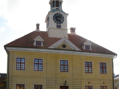 The Old Town Hall Of Rauma