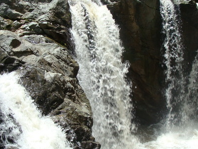 Waterfalls In The El Castrero River