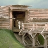 Reconstructed Drawbridge And Curtain Wall