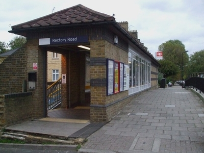 Rectory Road Station Entrance