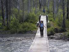 Red Eagle Trail At Glacier National Park - USA