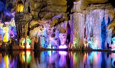 Red Flute Cave - Colorful Interiors